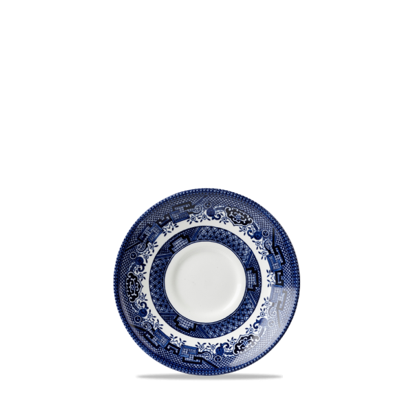 """Blue Willow Georgian Tea Saucer 5.5"""" 12/box"""