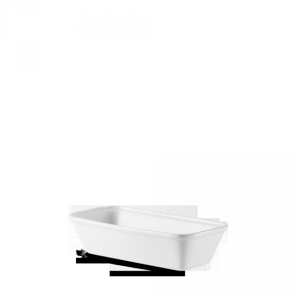 "White Cookware Rectangle Baking Dish 5"" 4/box"