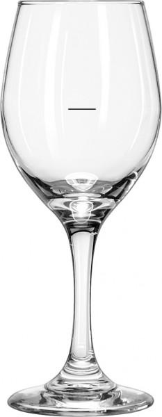 Perception Wine met ijkstreep op 125 ml - zwart