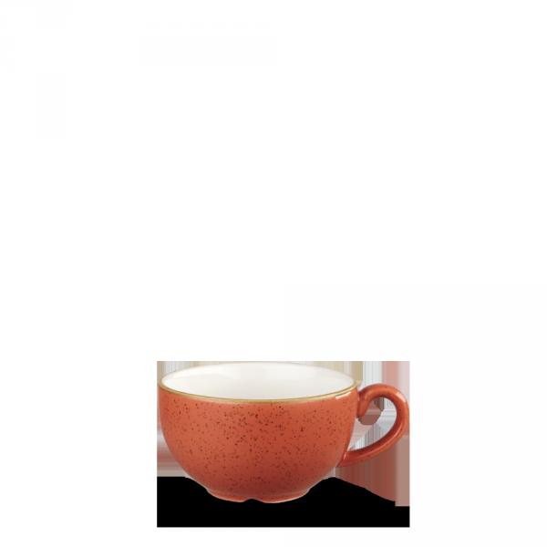 Stonecast Orange Cappuccino Cup 12Oz 12/box