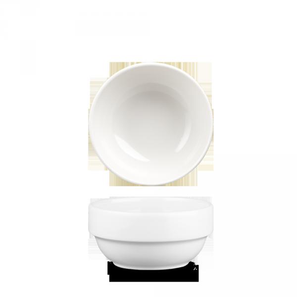 White Profile Stacking Bowl 12.6Oz 6/box