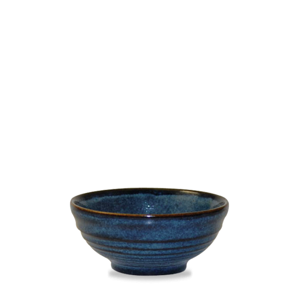 Sapphire Ripple Snack Bowl 28 cl