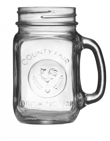 County Fair Drinking Jar 473 ml