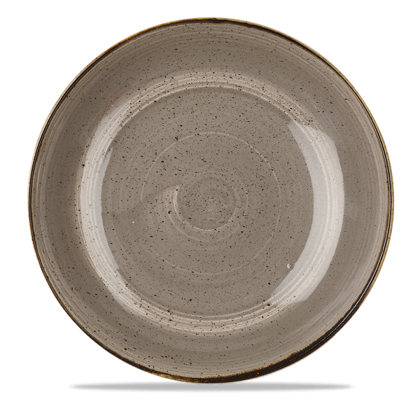 "Stonecast Grey Coupe Large Bowl 12"" Box 6"