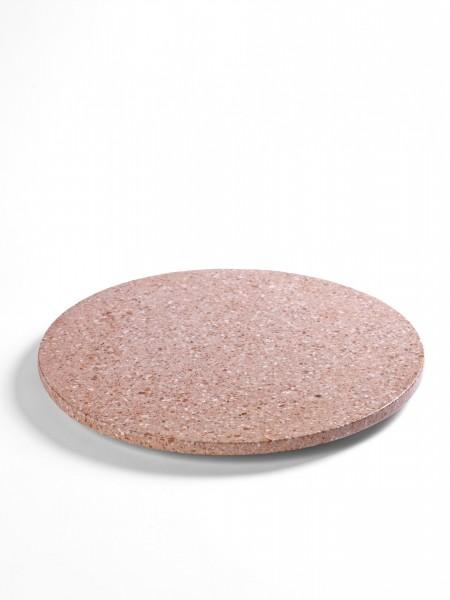 "Serving Tray & Presentation Platter - Presentation Platter ""Rose Terrazzo"""