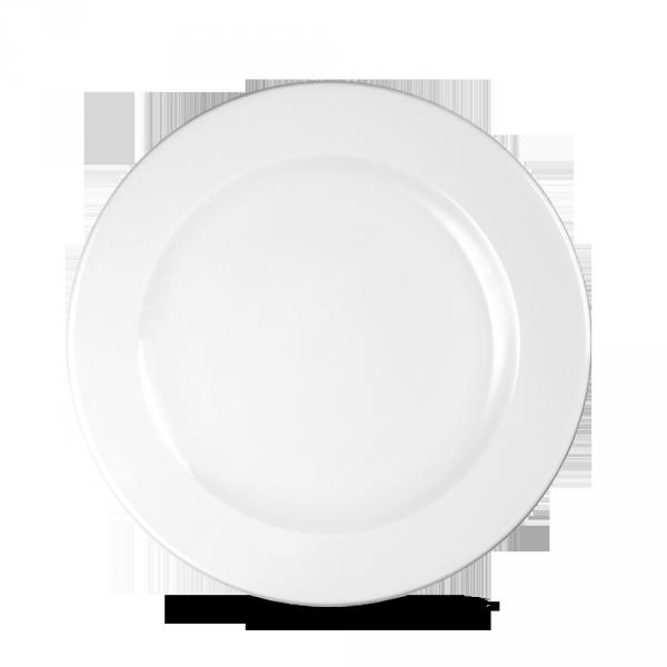 """White Profile Plate 9"""" 12/box"""