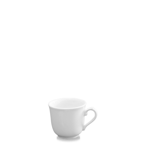 White Sandringham Elegant Cup 7.5Oz 24/box