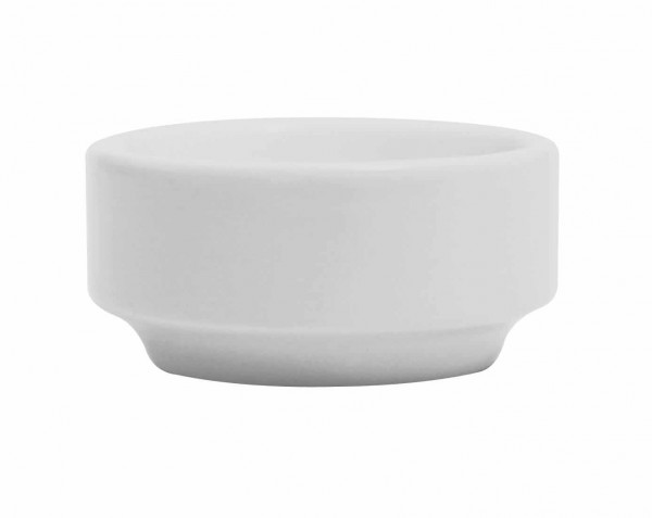 """White Cylinder Butter Pad 4"""" 12/box"""