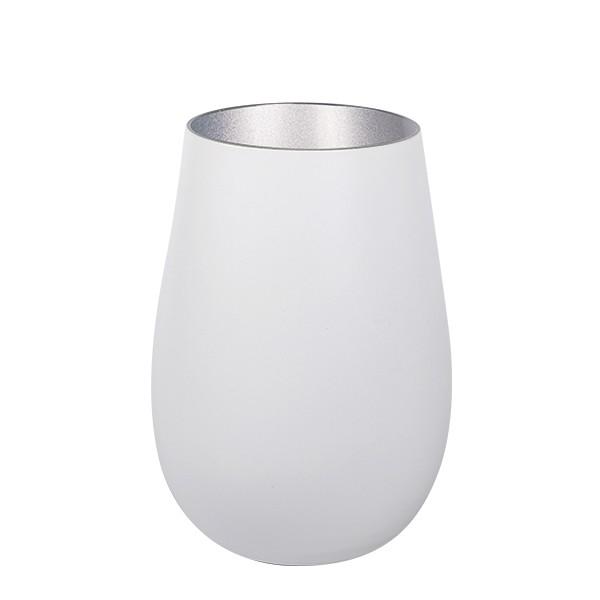 Olympic matt-white Rocks Silver 465 ml 6/box