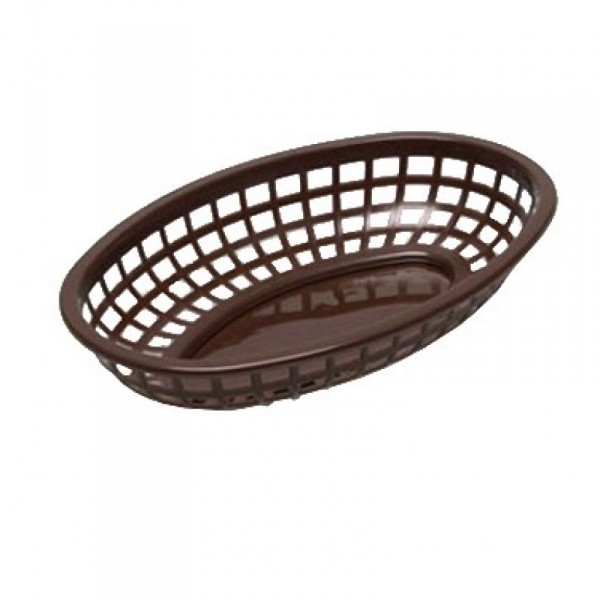 TABLECRAFT BASKET OVAL BR