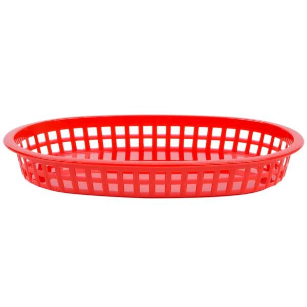 Grande Platter Basket Red 36/box