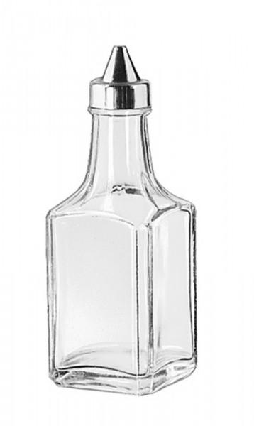 Oil or Vinegar Cruet (Stainless Steel Top) 118ml