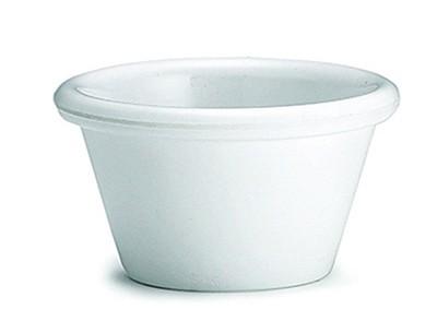 Melamine Ramekin 1.5 oz White 12/box