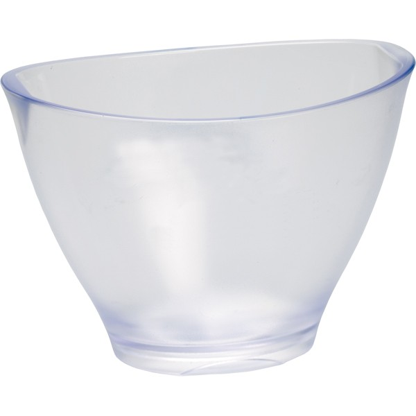 Ice Bucket frosted clear plastic Ř 29*19,5 cm 3,5 L