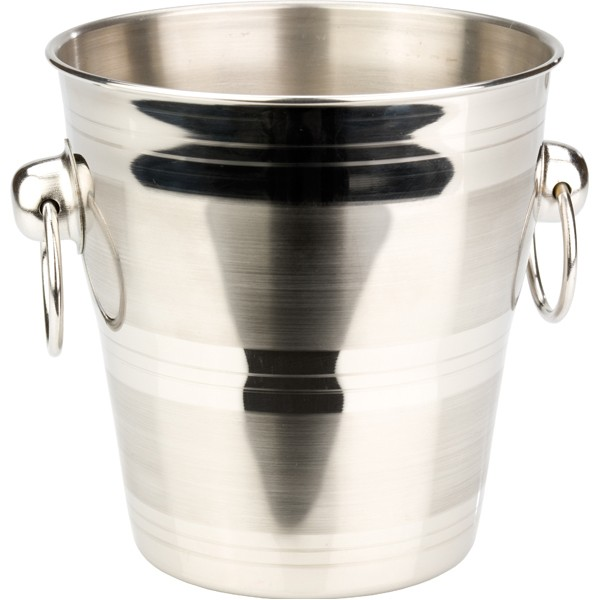 Mini Ice Bucket with rings 14,5*14,5 cm