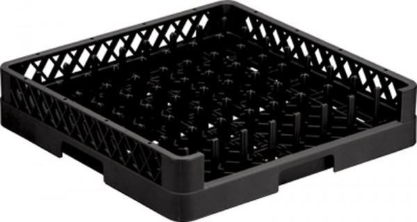 Open Plate Rack Black
