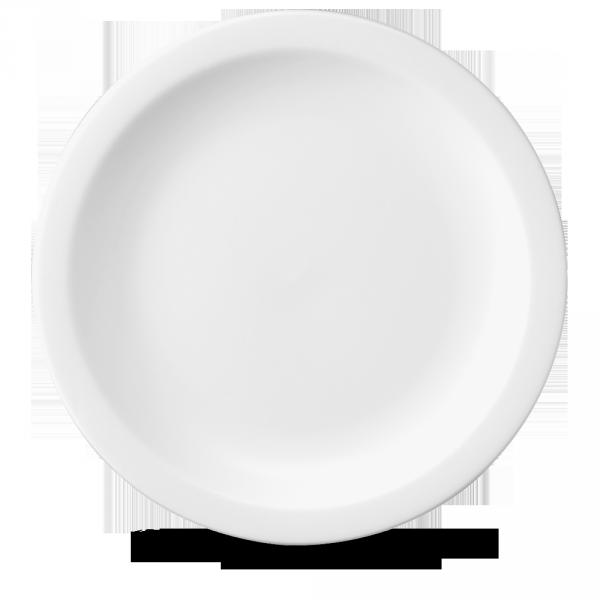 """White Nova Plate 12"""" 12/box"""