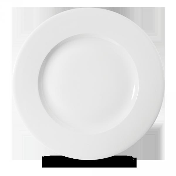 """White Profile Wide Rim Plate 11 7/8"""" 12/box"""