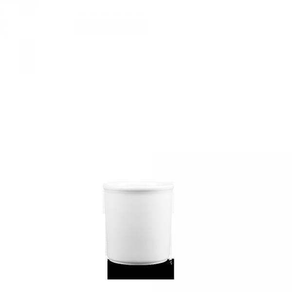 "White Deli Jar 4 3/8"" 4/box"
