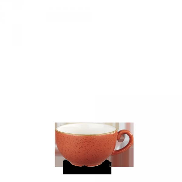 Stonecast Orange Cappuccino Cup 8Oz Box 12