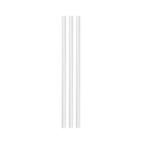 ECO rietjes transparant zonder buigstuk 6 Ø 15 cm