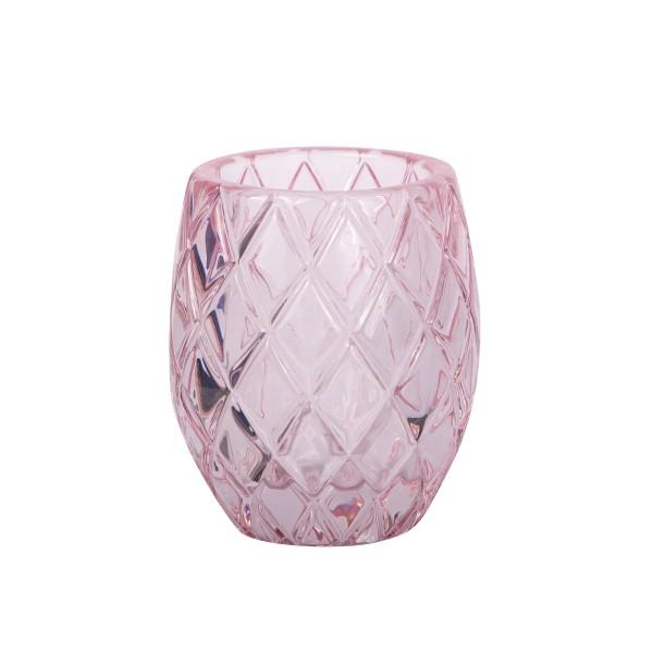 Waxinelichthouder Roze