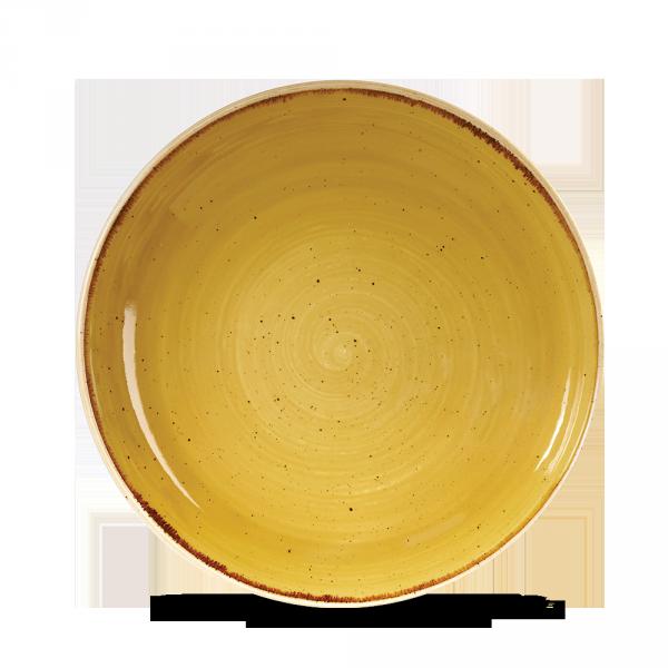 "Stonecast Mustard Evolve Coupe Bowl 9.75"" Box 12"
