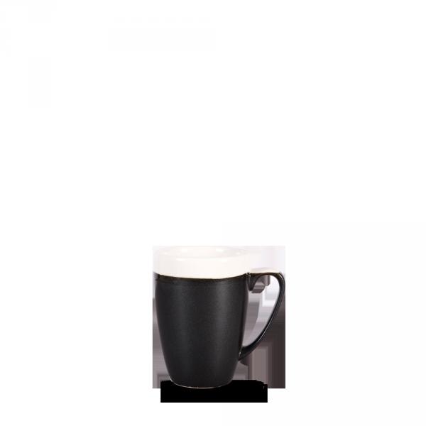 Monochrome Onyx Black Profile Mug 12Oz 12/box