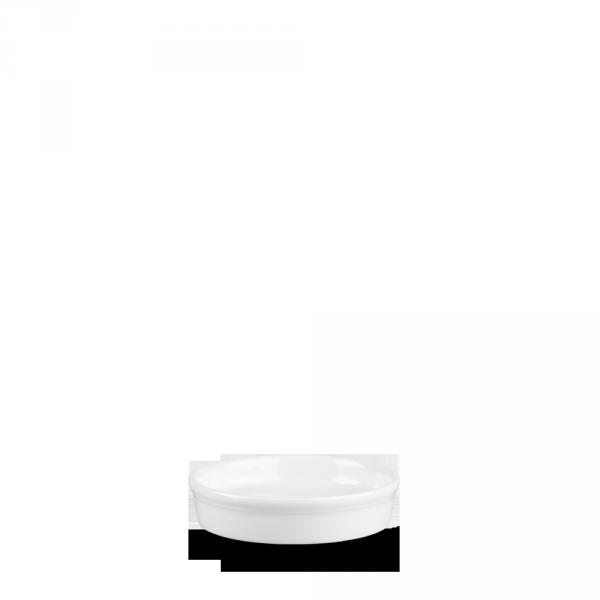 White Mezze Dish 1Oz 12/box