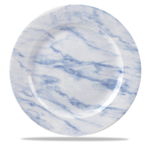 "Marble Blue Plate 12"" Box 6"