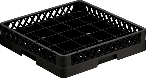 25 Compartment Base Rack Black 6/box