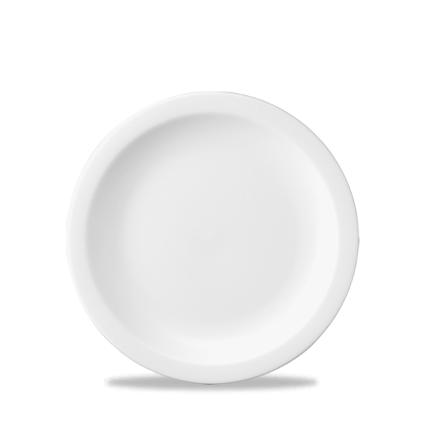 """White Nova Plate 7"""" 24/box"""