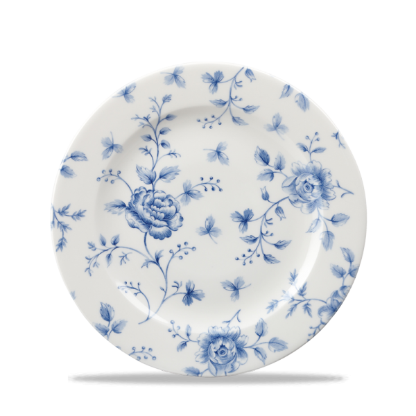 "Rose Chintz Prague Profile Plate 8"" 6/box"