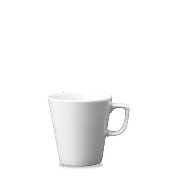 White Cafe Latte Mug 16Oz 6/box