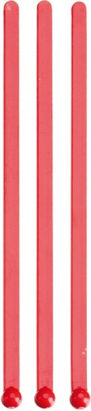 Flat Stirrer red 153 mm