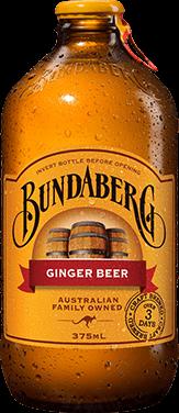 Bundaberg Ginger Beer 375 ml per flesje 12/box