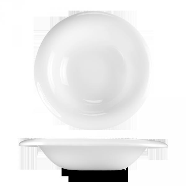 """White Glide Pasta Bowl 10"""" 6/box"""
