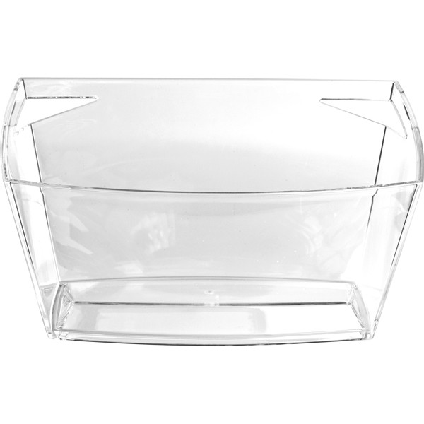 Ice Bucket square clear acrylic