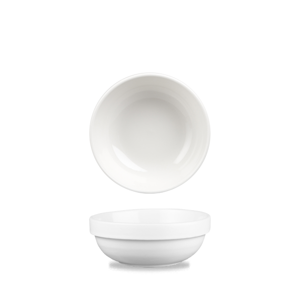 White Profile Stacking Bowl 10Oz 6/box