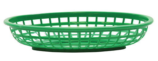 Classic Oval Basket Gunmetal 36/box