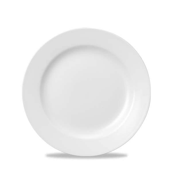 "White Classic Plate 8"" 24/box"