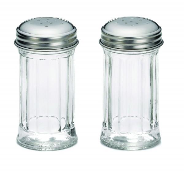 Salt & Pepper Shaker, Stainless steel tops