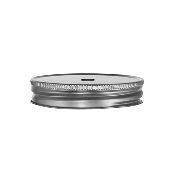 Lid silver with hole fitting 97085/92103/97088