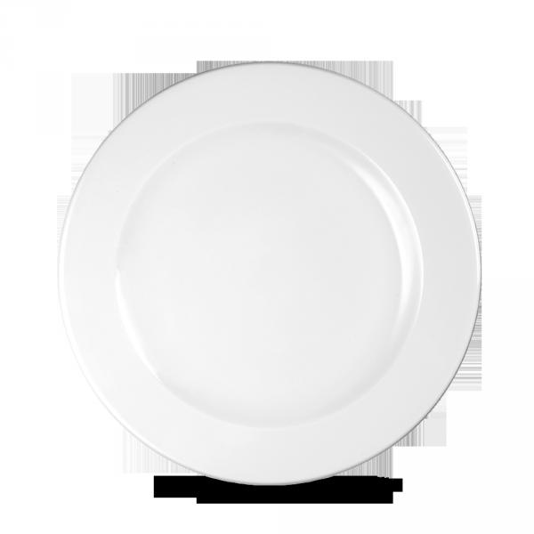 """White Profile Plate 8 1/4"""" 12/box"""