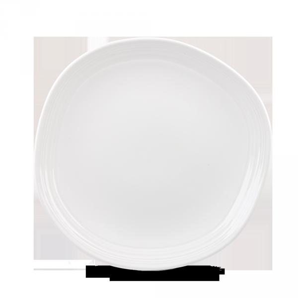 "White Round Discover Plate 11 1/4"" 12/box"