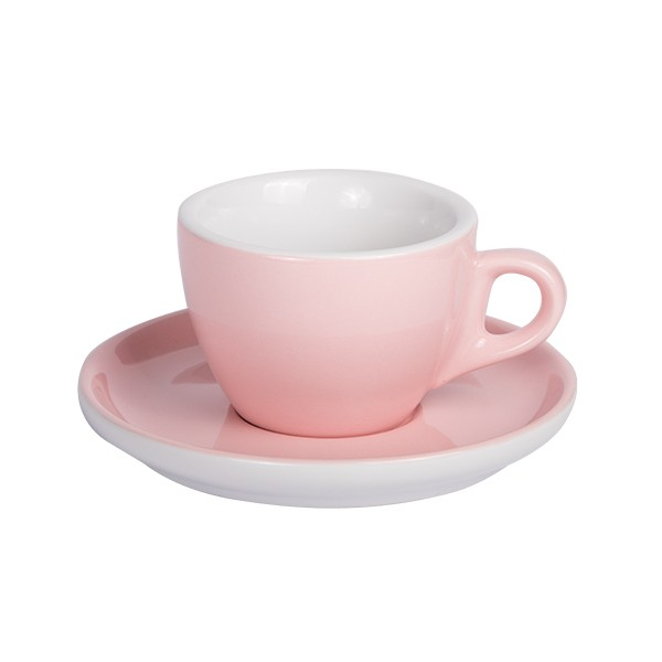 Light Pink - Coffee cup with saucer 160ml