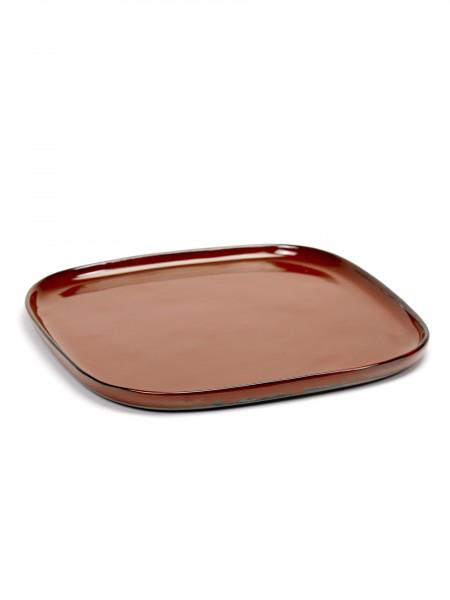Anita Le Grelle - Terres De Reves - Square Plate Large 25,4X25,4