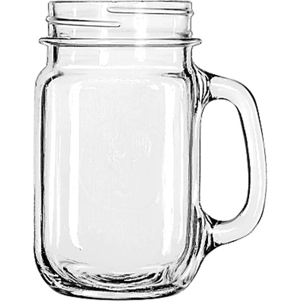 Drinking Jar Plain 473 ml 12/box