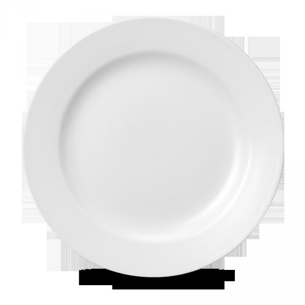 "White Classic Plate 11"" 12/box"