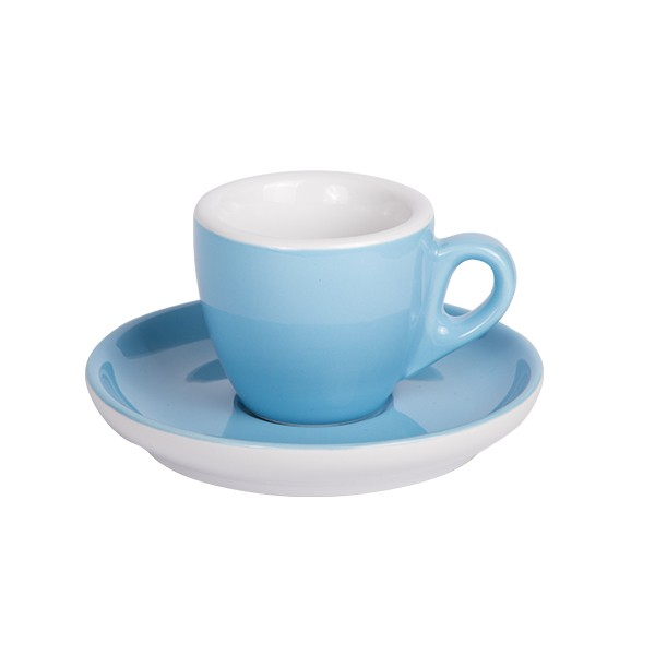 Espresso cup with saucer blue 544c 55 ml